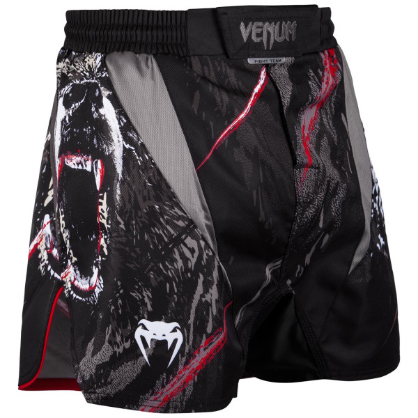 Board shorts - Venum - Grizzli Fightshorts - Sort/Hvid
