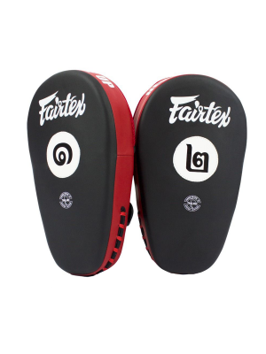 Focus Mitts - Fairtex - 'FMV12' - Svart/Röd