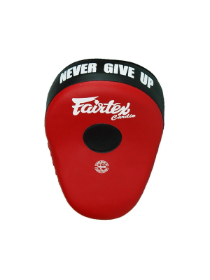 Focus Mitts - Fairtex - 'FMV13' - Röd