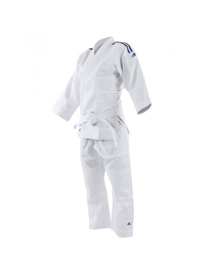 Judo Uniform - Adidas Judo - 'Evolution 2' - Vit