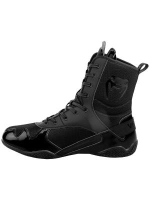 Boxing shoes - Venum Elite Boxing Shoes - Black/Black
