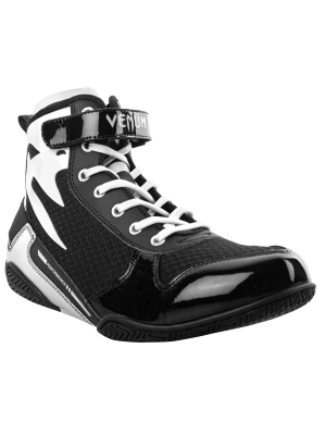 Boxing Shoes - Venum - 'Giant' - White/Black