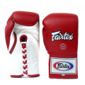 Boxing Gloves - BGL6 - Red - Lace
