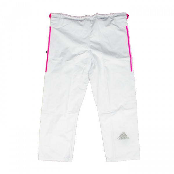 new product 19f1b cffed ... Adidas - Contest 2.0 IBJJF - Hvid   Pink Striber Enlarge « »